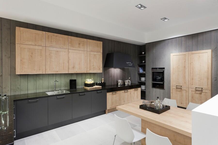 Weiss Mit Holz Und Grau Kombiniert ~ Sweet home sieht schwarz